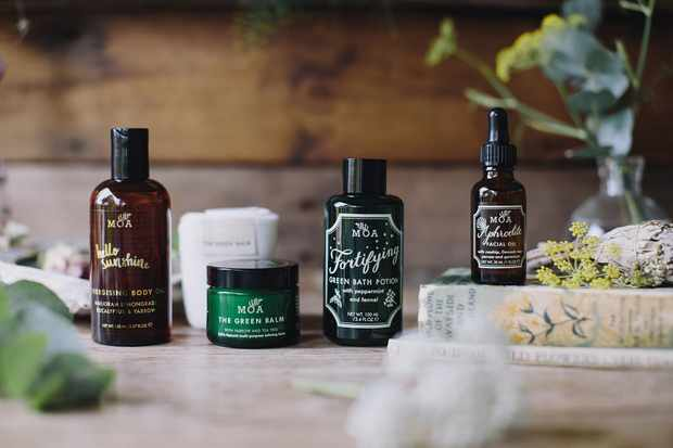 Save 30% on organic skincare products at MOA