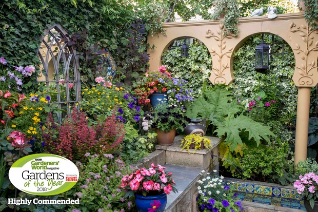 Moorish drama: John Tordoff, Cambridge. Gardens of the Year 2018 competition.