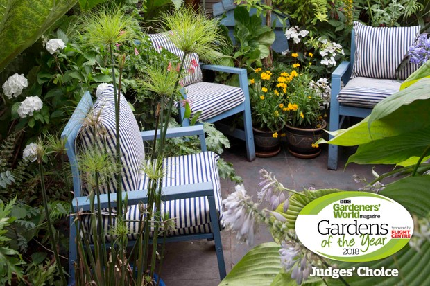 A Slice of Jamaica: Wayne Amiel, London. Gardens of the Year 2018 competition.