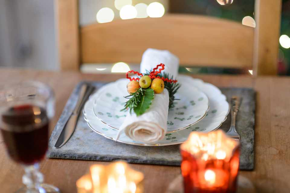 How To Make a Herb Napkin Ring