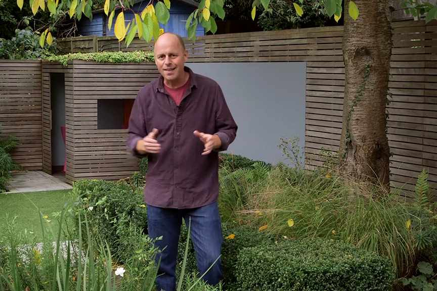 Three golden rules of garden design NFG video