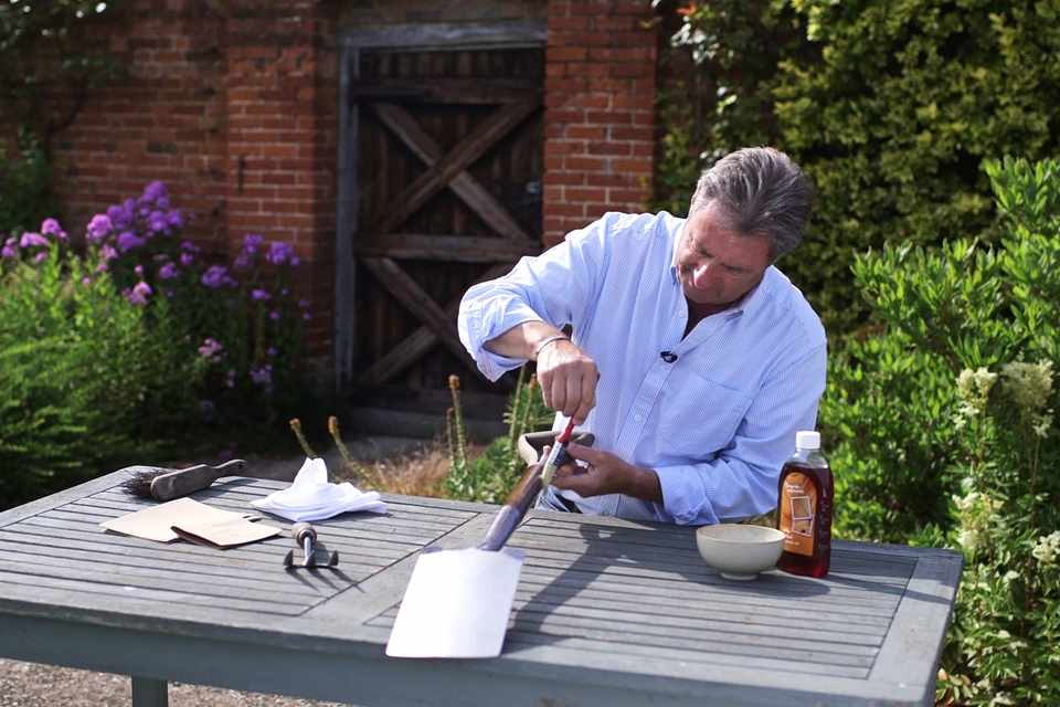 No Fuss Guide Caring for wooden gardening tools