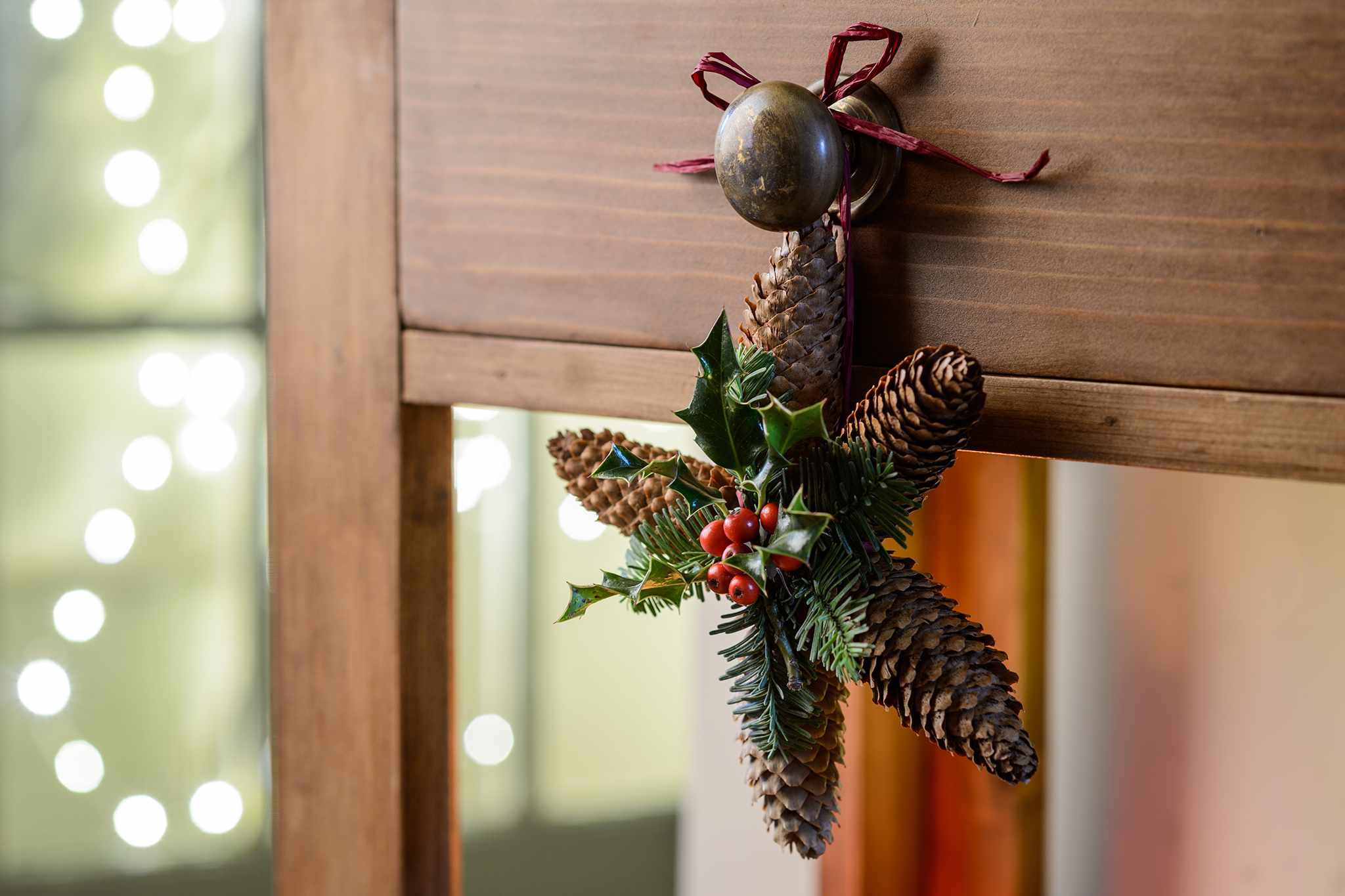 How To Make a Pine Cone Star