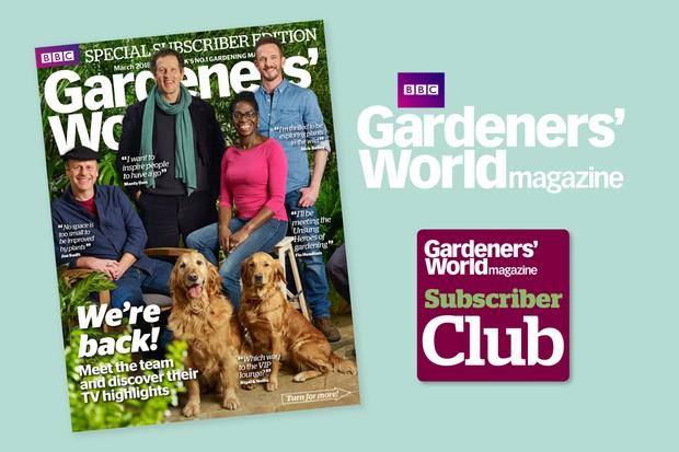 Gardeners' World Magazine subscription queries