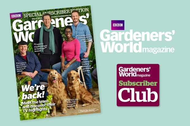 Gardeners' World Magazine subscription queries