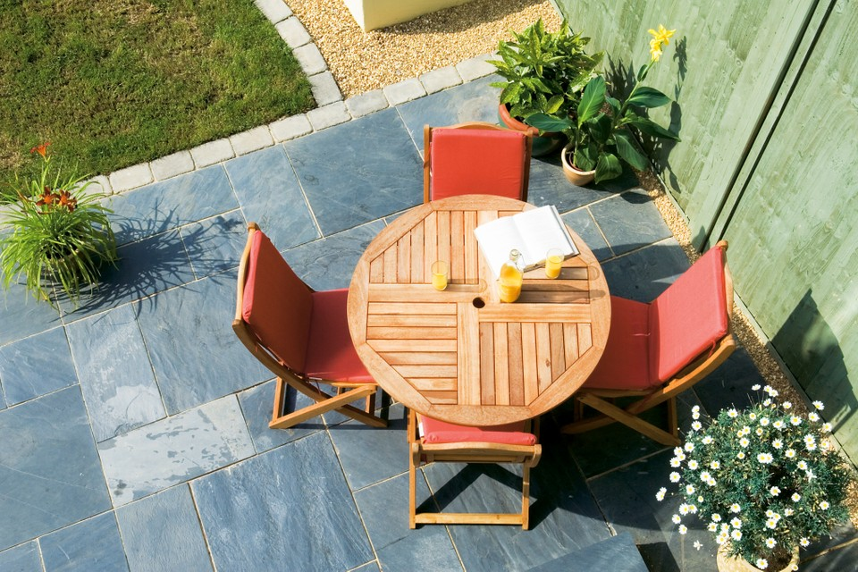 How To Lay A Patio Bbc Gardeners World Magazine