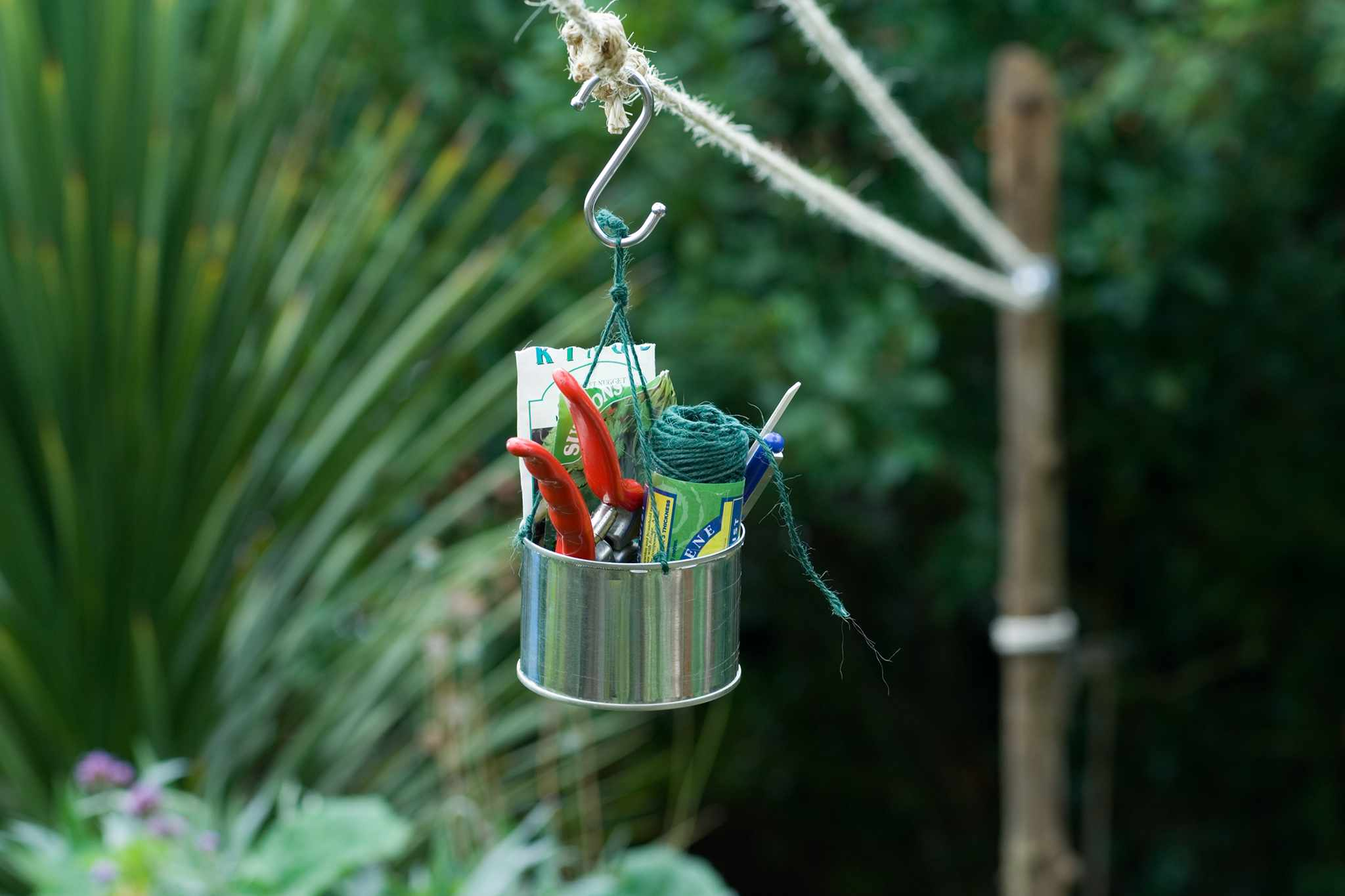 Create a Garden Pulley System