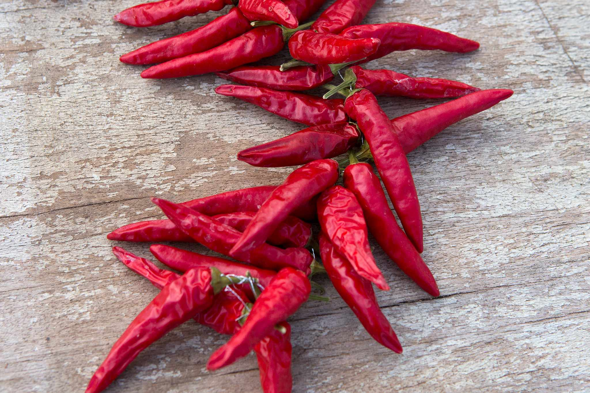 How to store chillies
