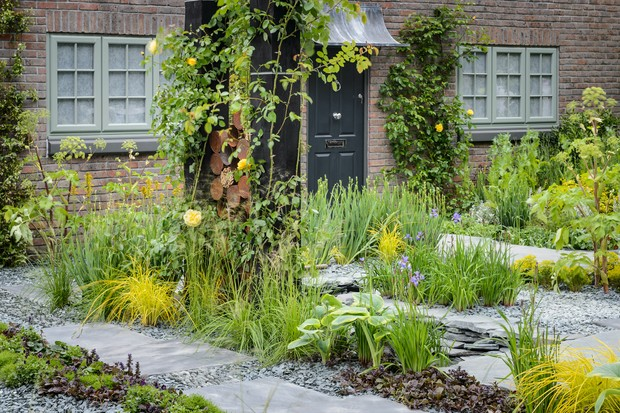 front-garden-planted-with-irises-and-hostas-2