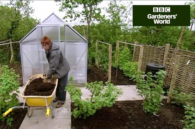 How to mulch beds and borders