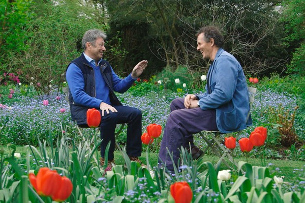 Alan Titchmarsh and Monty Don