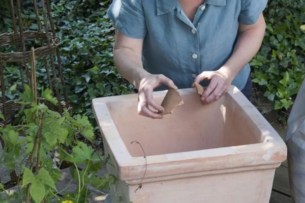 Adding crocks to the pot