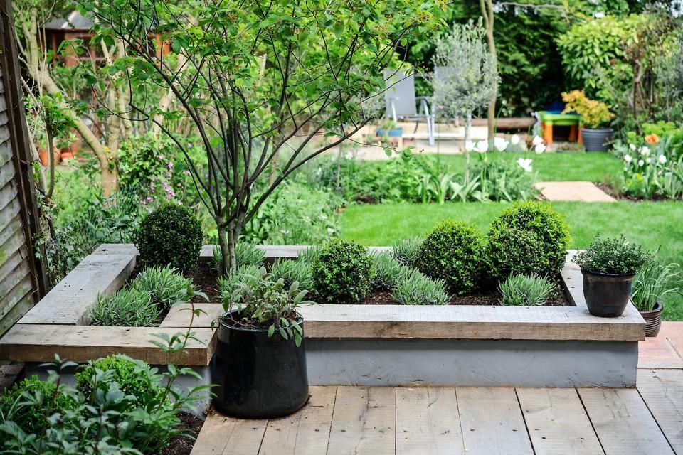 Make A Contemporary Raised Bed Gardenersworld Com