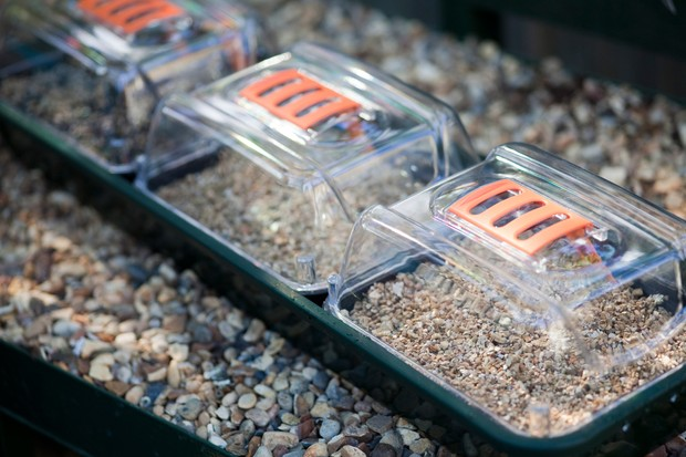 Propagators with their vents open