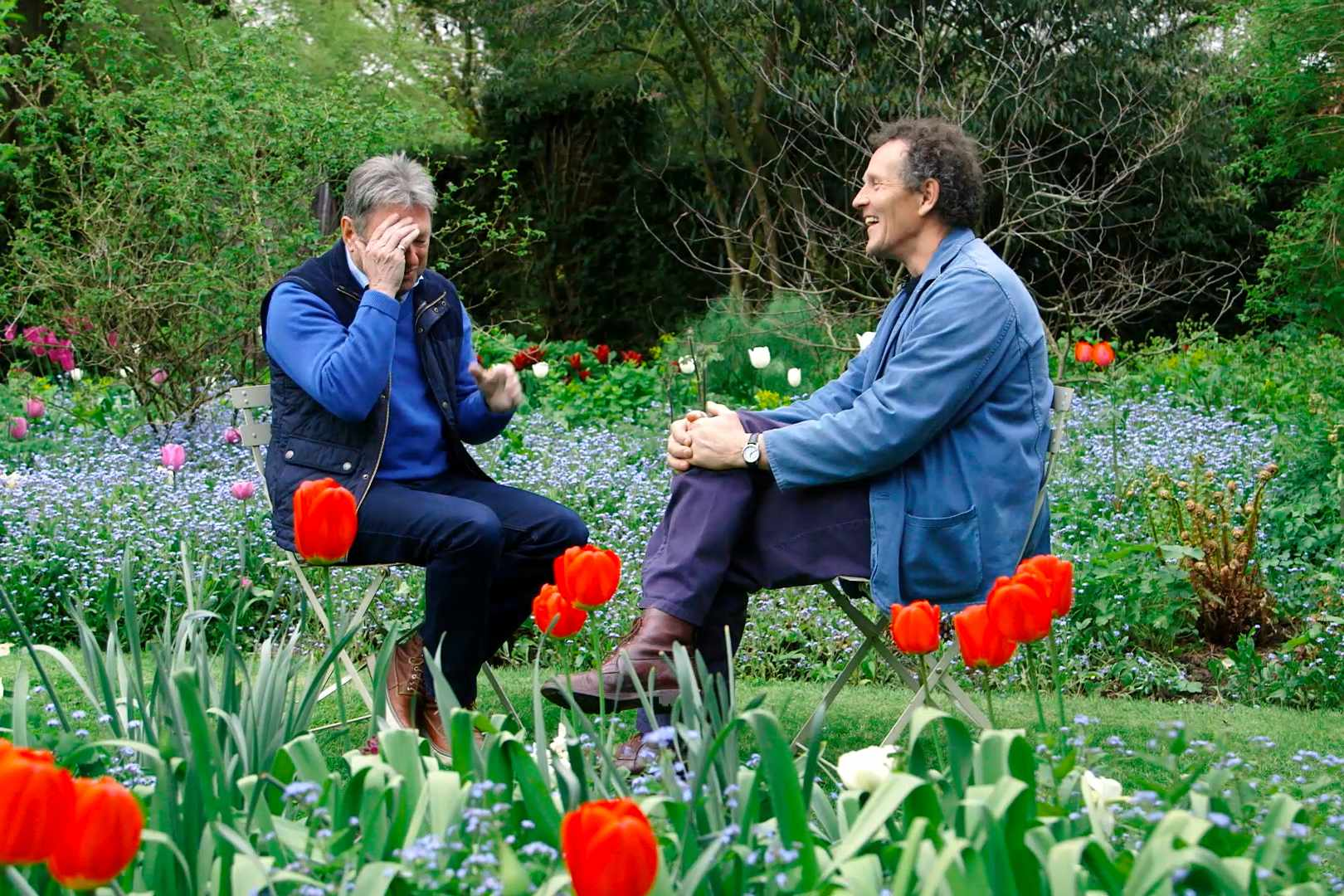 Alan Titchmarsh and Monty Don video Subsriber Club exclusive part one