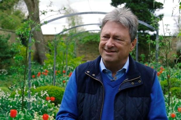 Alan Titchmarsh speaking of his Gardeners' World memories