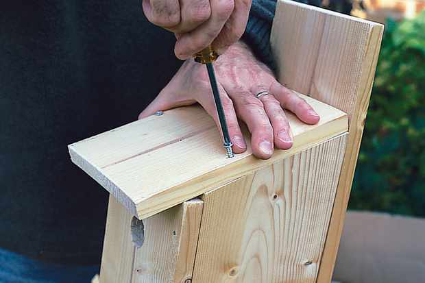 screwing-in-self-tapping-screw-to-bird-box-2