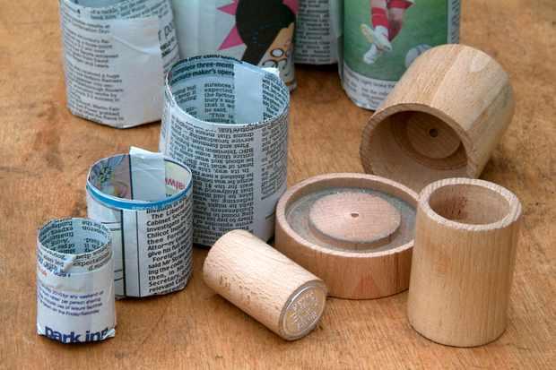Making Paper Plant Pots Gardenersworld Com