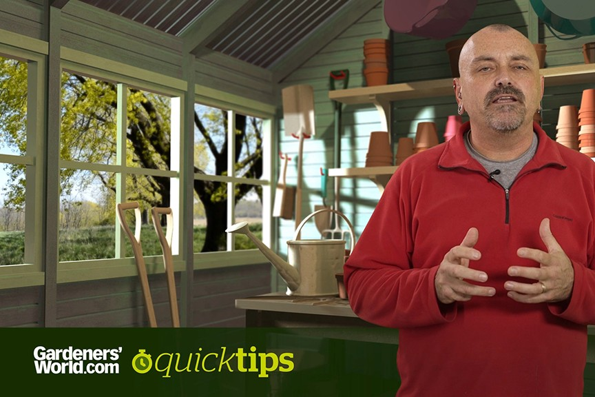 Quick Tips How can I reduce the work in a large garden