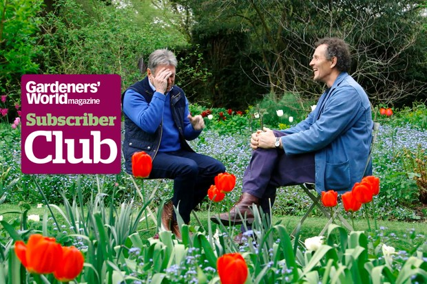Alan and Monty chatting together about gardening over the decades