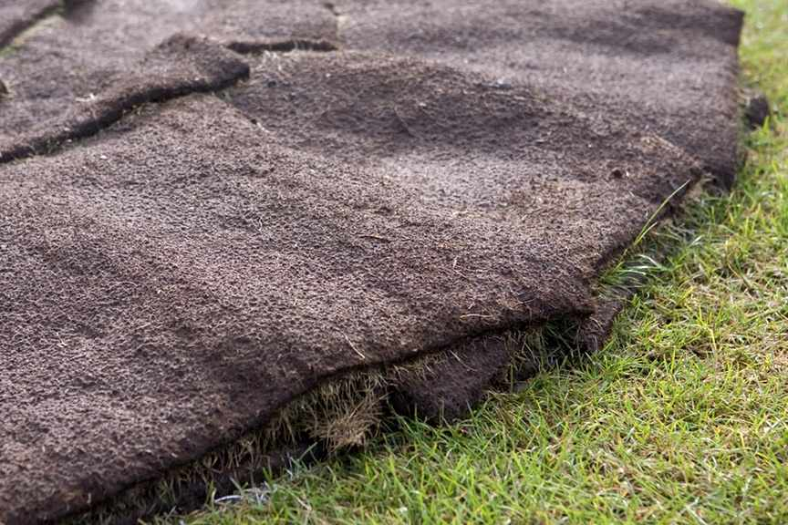 What can I do with spare lawn turf?