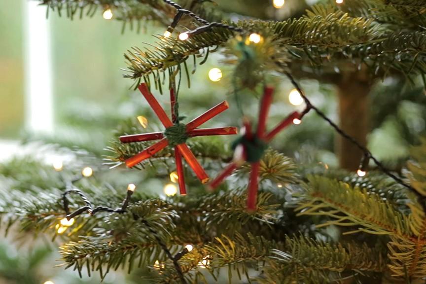 Christmas tree decorations NFG video