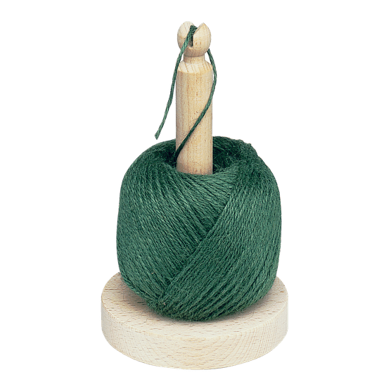 Garden twine on wooden spindle