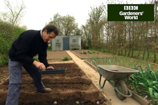 Monty Don's potato trial (part one)