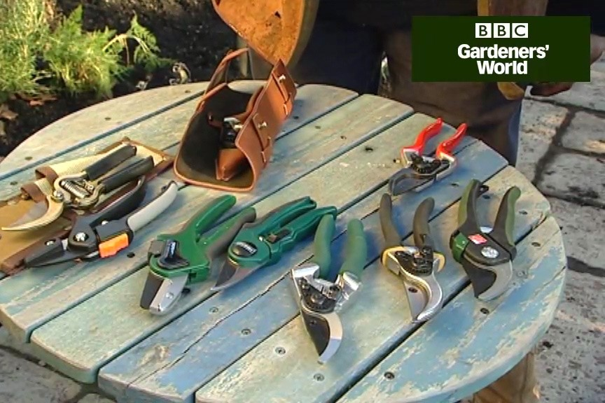 How to choose secateurs video