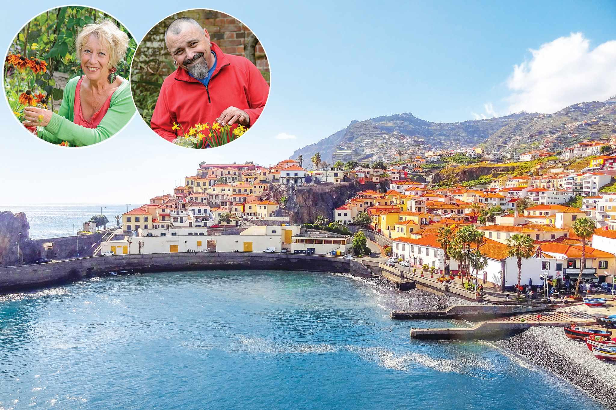 Madeira with Carol and David