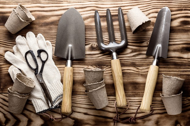 Hand tools with wooden handles