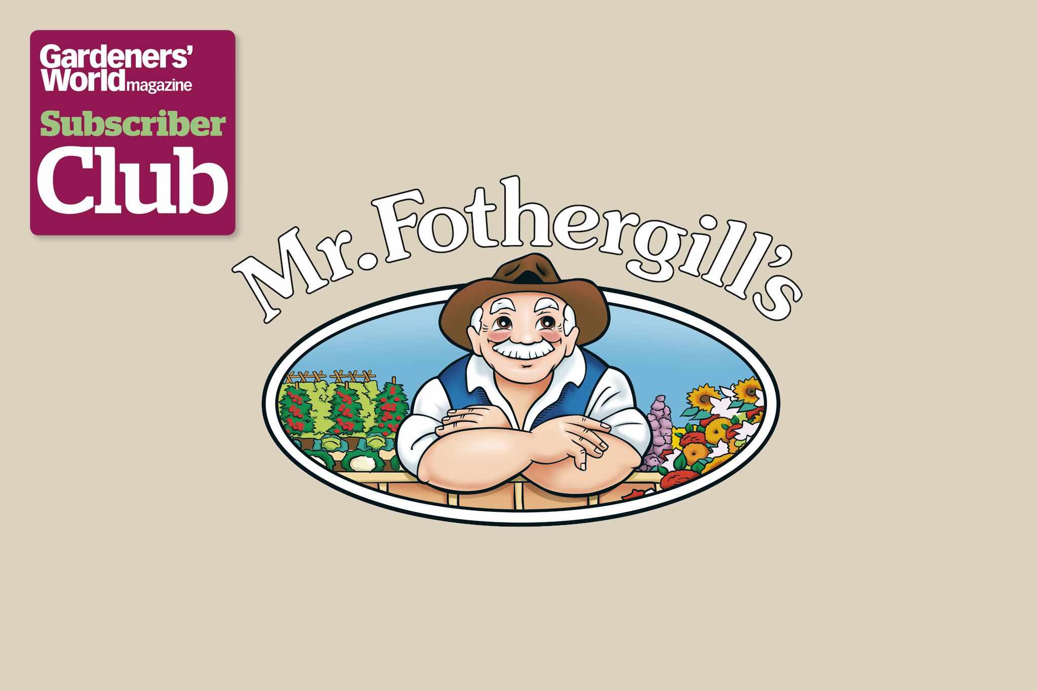 Mr Fothergill's BBC Gardeners' World Magazine Subscriber Club discount