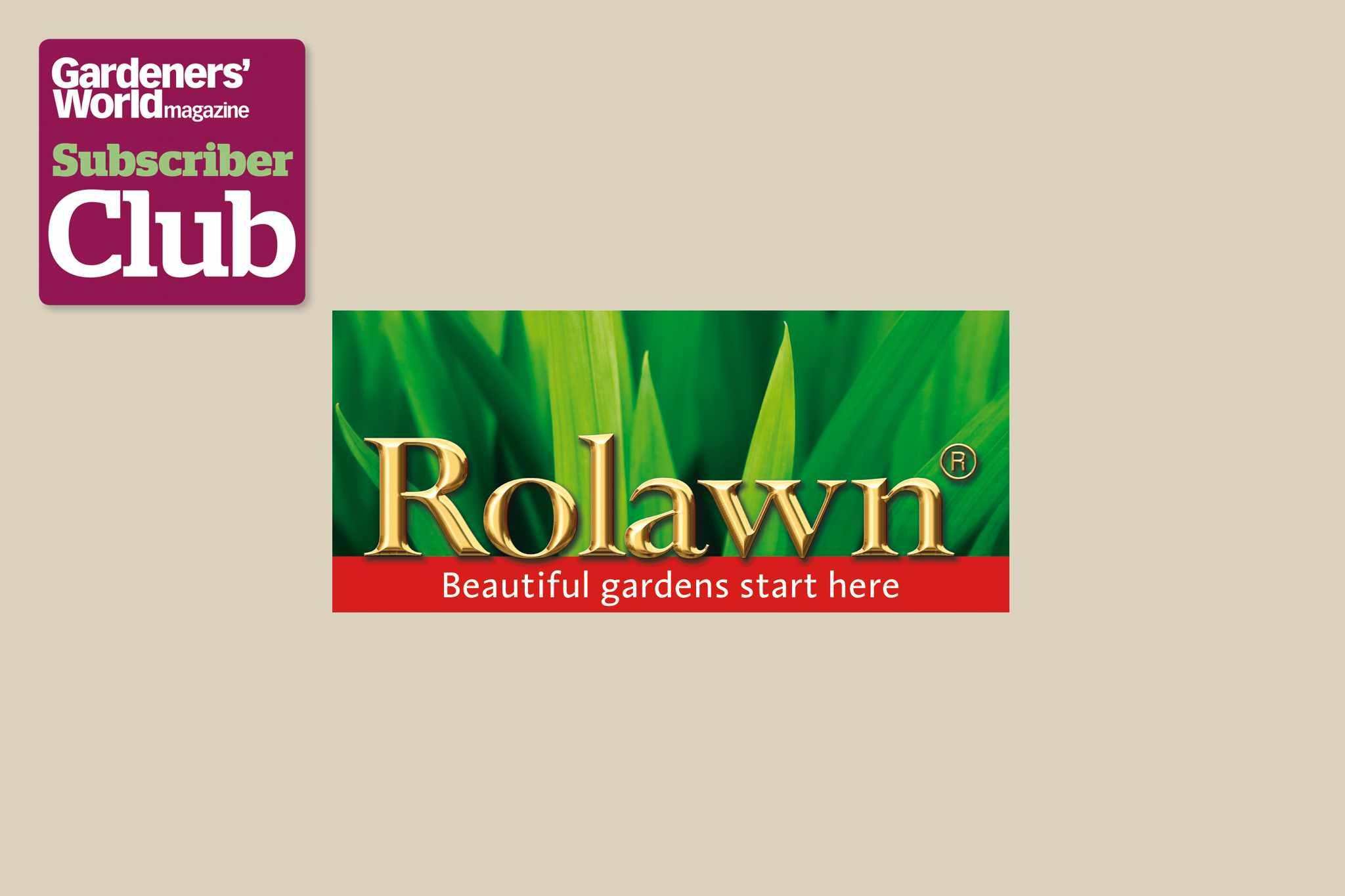 RolawnGarden Bird Supplies BBC Gardeners' World Magazine Subscriber Club discount