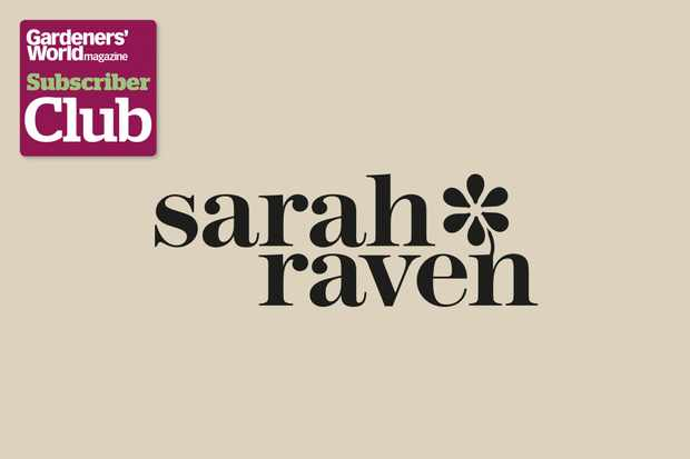 Sarah RavenGarden Bird Supplies BBC Gardeners' World Magazine Subscriber Club discount