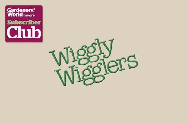 Wiggly WigglersGarden Bird Supplies BBC Gardeners' World Magazine Subscriber Club discount