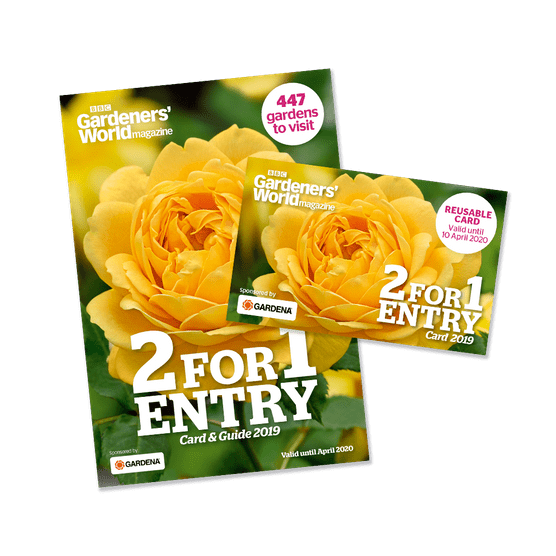 2-for-1 Gardens 2019 Guide and Card