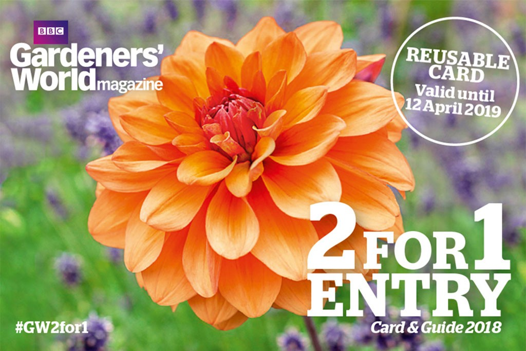 2-for-1 gardens entry card 2018