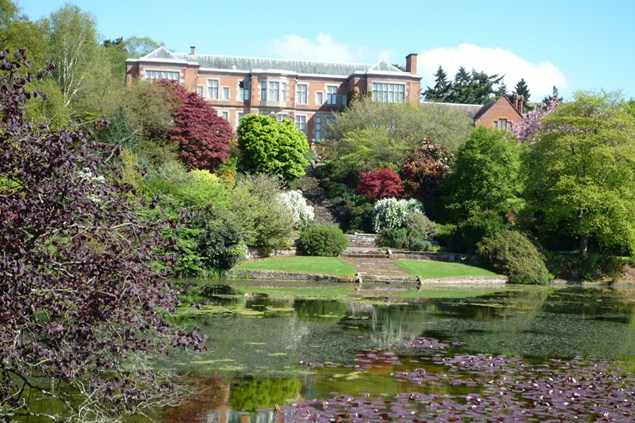 hodnet hall and grounds