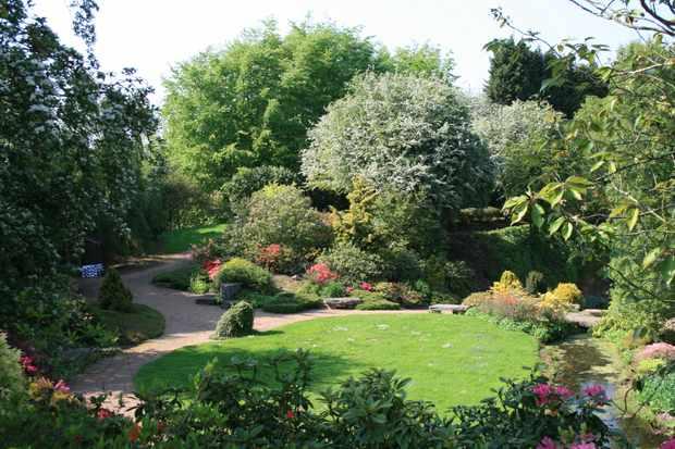 The Secret Quarry Garden
