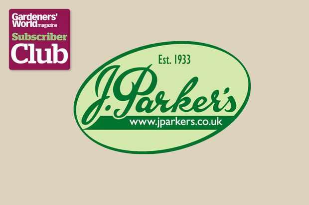 J Parker's BBC Gardeners' World Magazine Subscriber Club discount