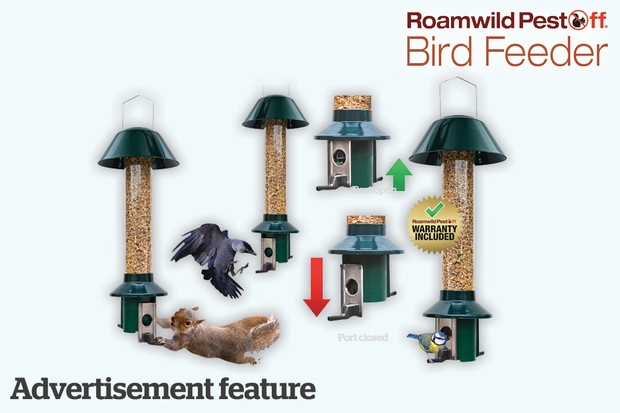 Win a PestOff bird feeder, from Homgar