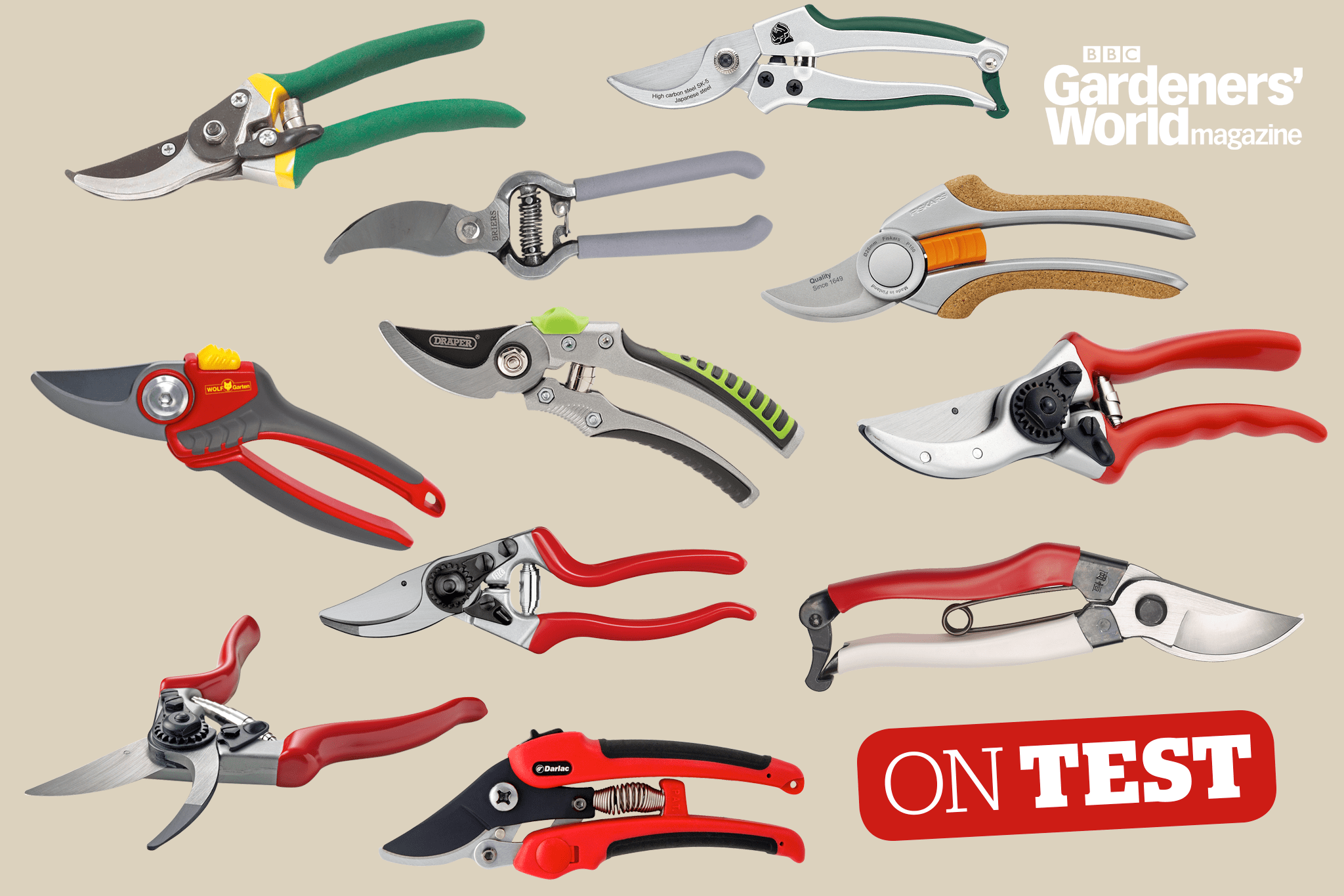 On Test - Bypass secateurs