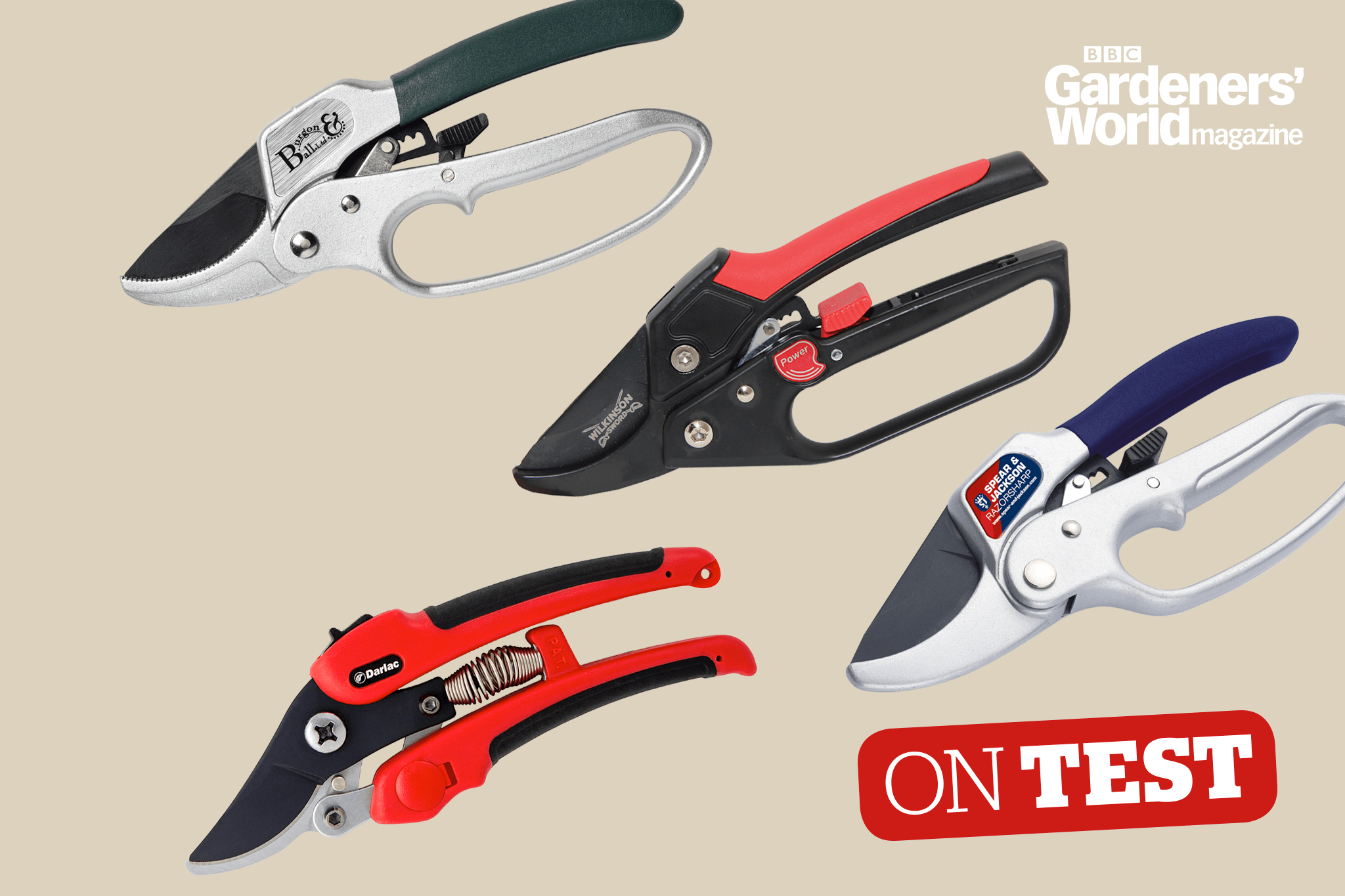On Test - Ratchet secateurs