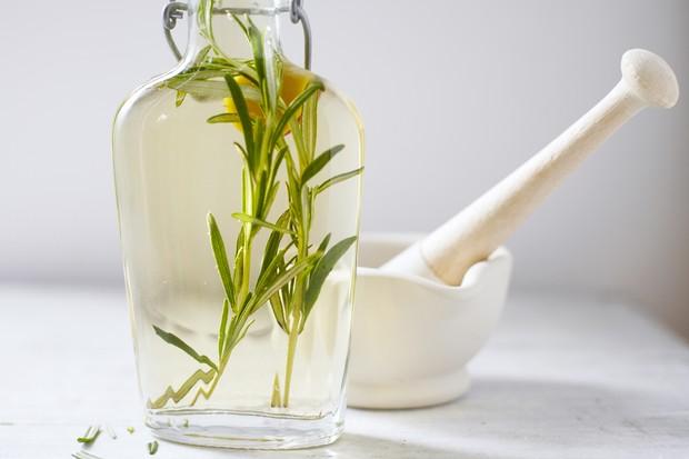 Rosemary herb vinegar