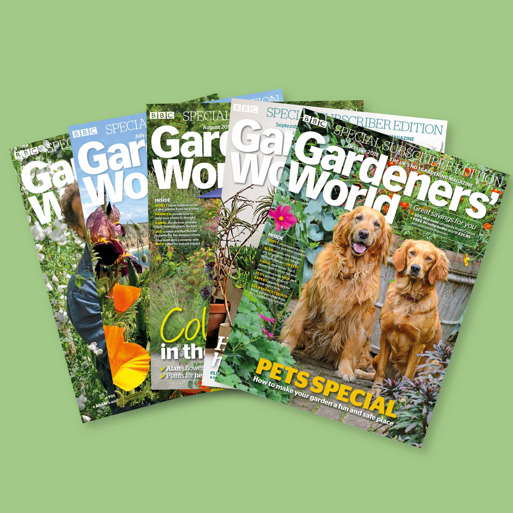 Subscribe to BBC Gardeners' World Magazine