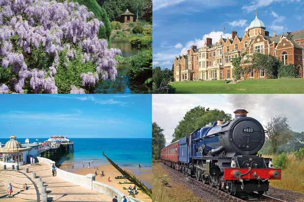 Arena rail holiday - visit to Sandringham