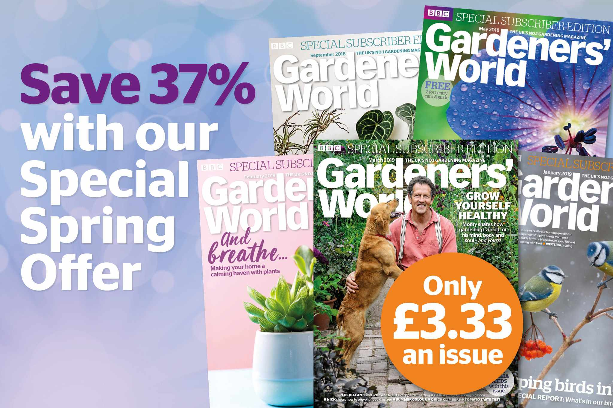 Gardeners' World Magazine - special spring subscription offer