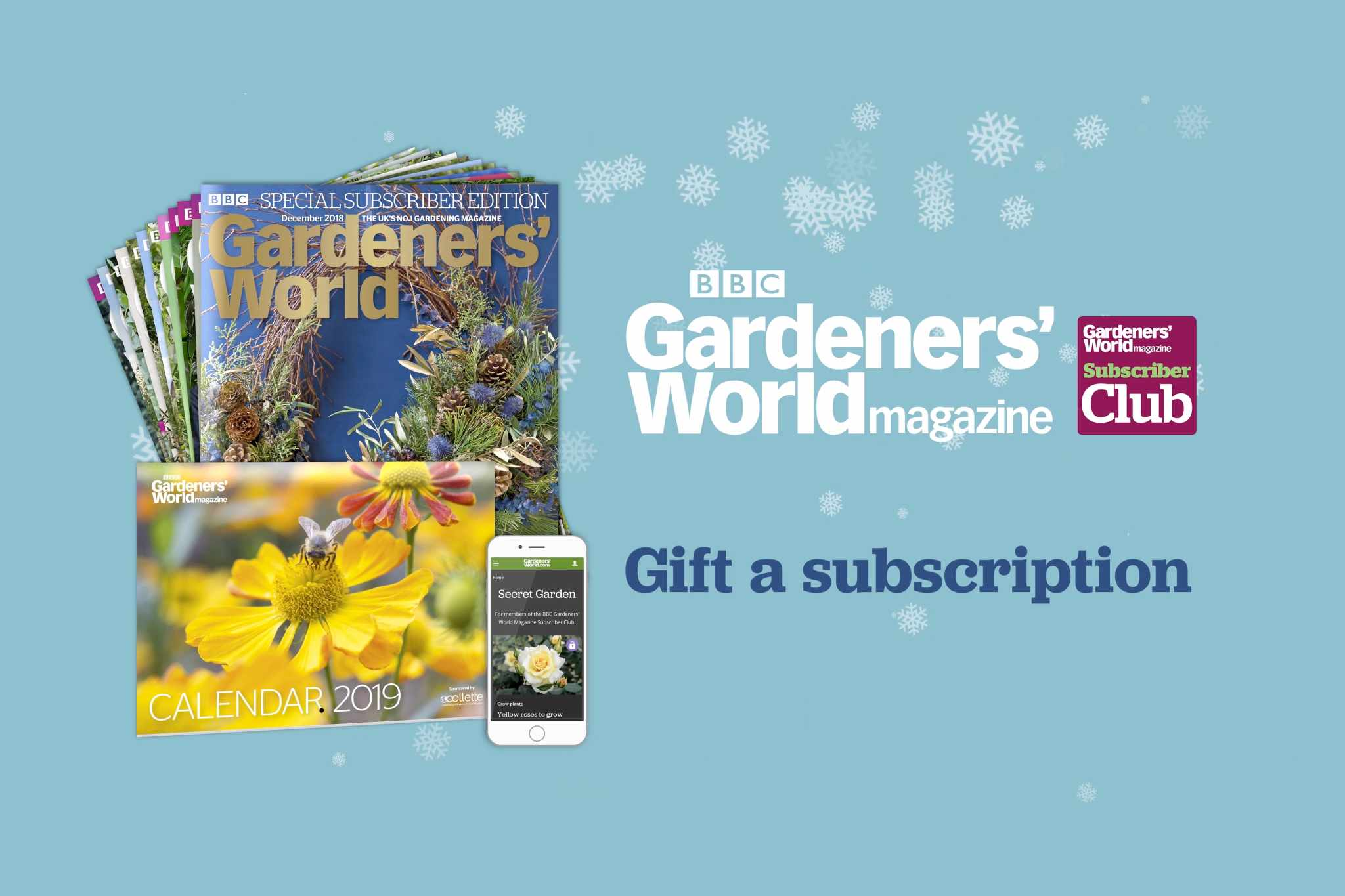 Gardeners' World Magazine - gift a subscription
