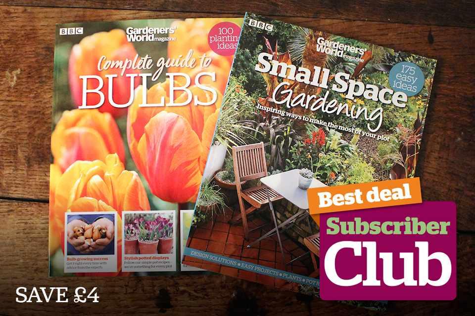Bookazine offer - BBC Gardeners' World Magazine