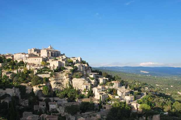 Hilltop village of Gordes